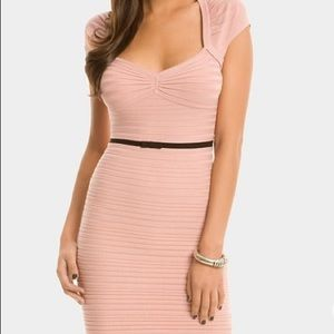 Guess by Marciano Sweater Dress Blush Pink S
